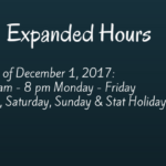 Expanded Hours