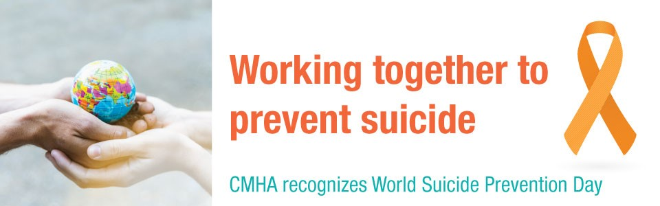 World Suicide Prevention Day 2018 Web Banner