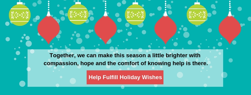 Holiday Donate Banner