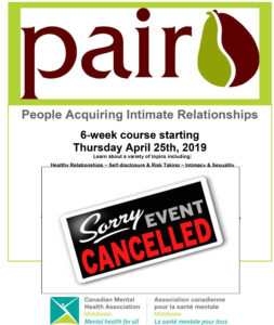 PAIR Program Cancelled