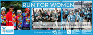 Run For Women Event Web Banner