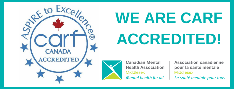 CMHA Middlesex Receives 3 Year CARF Accreditation