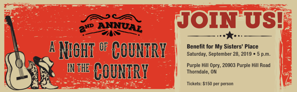 A Night of Country in the Country Web Banner