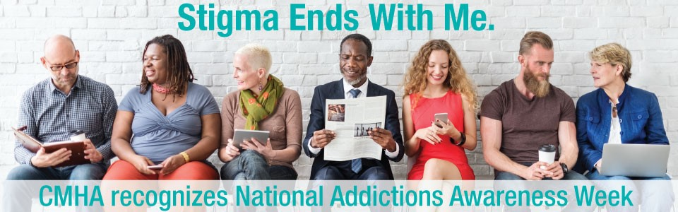 CMHA Middlesex recognizes National Addictions Awareness Week