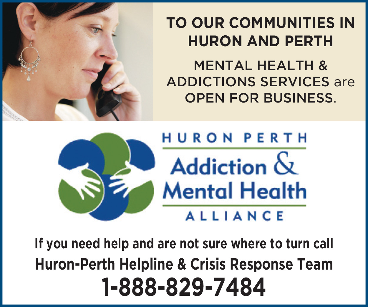 Mental Health and Addictions Services